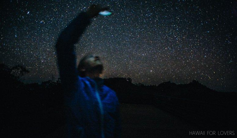stars and stargazing at kalalau valley kaua'i