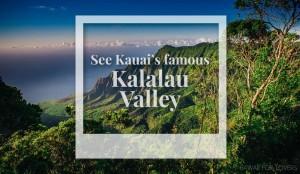 kauai's famous kalalau valley
